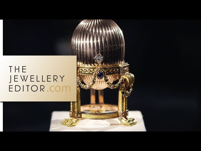 Lost Imperial Fabergé Easter Egg at Wartski jewellers