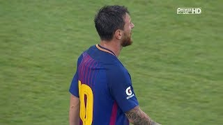 Lionel Messi vs Juventus (Neutral) 17-18 HD 1080i (23/07/2017) - English Commentary
