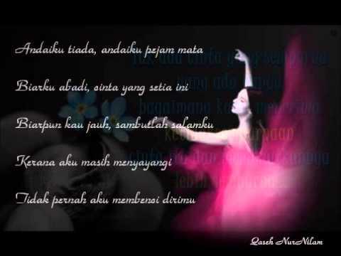 Adira-Sampaikan Salam Cintaku~lirik~