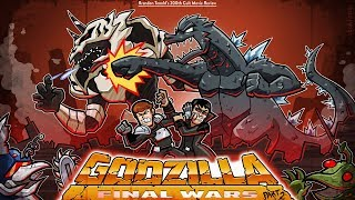 Brandon's Cult Movie Reviews: GODZILLA: FINAL WARS (PART 2)