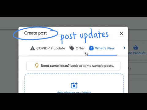 How do I post updates about my business on Google? | Quick Help