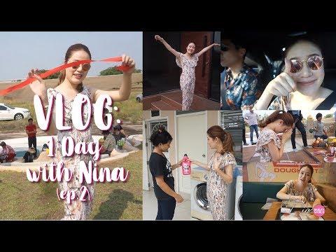 LIFESTYLE || VLOG: 1 Day with Nina [Ep.2 - One Sunny Day] || NinaBeautyWorld - วันที่ 05 Apr 2018