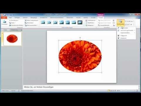 PowerPoint 2010 - Bilder Auf Beliebige Formen Zuschneiden