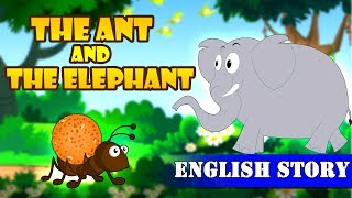 The Ant and the Elephant | Moral Kids Story | Short Stories for Kids | Koo Koo Tv