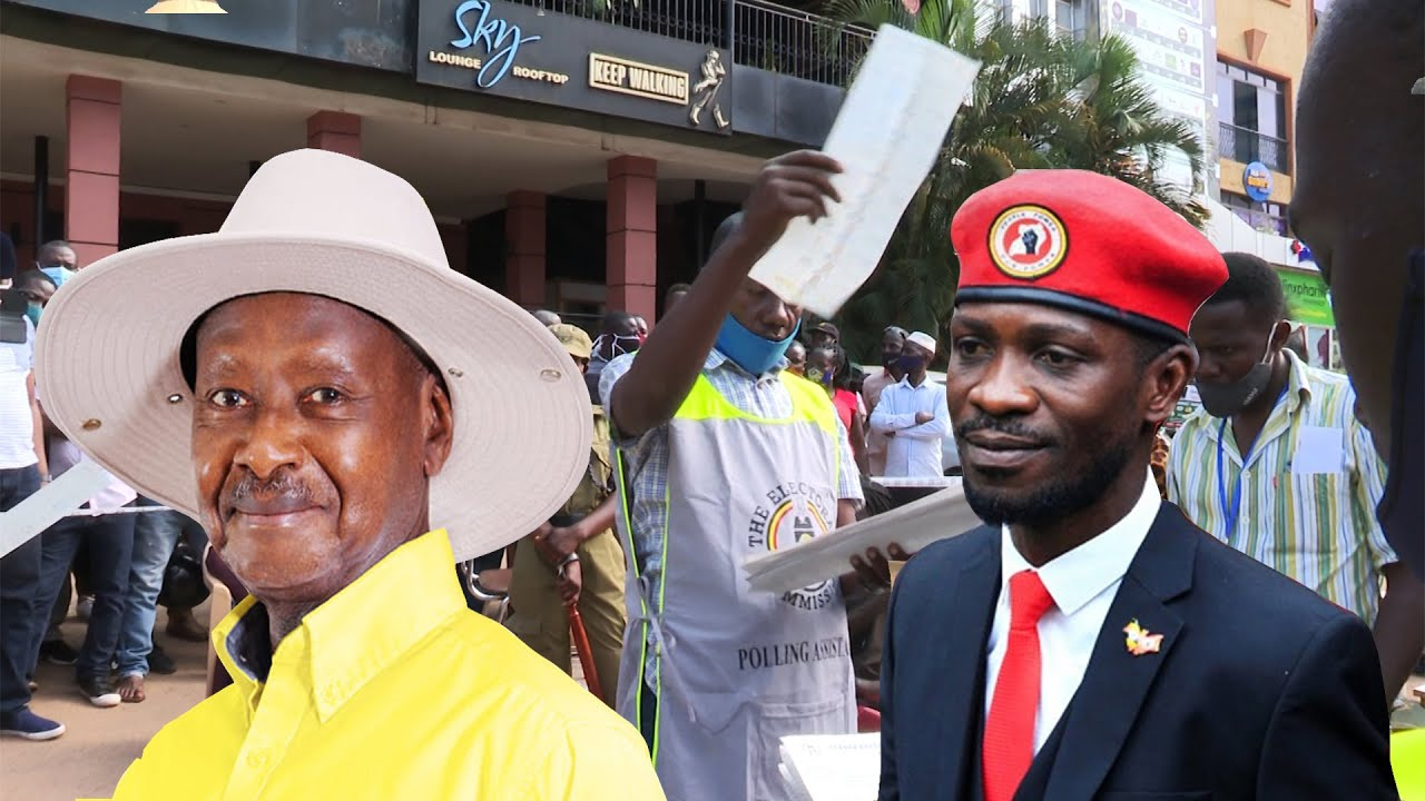 Vote Counting: Museveni and Bobi Wine in tight race - Uganda Elections 2021