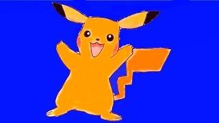 Пикачу - Как нарисовать покемона видео