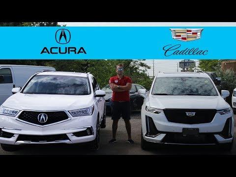 2020 Acura MDX vs 2020 Cadillac XT6 | Luxury 3 Row Seater SUV Comparison