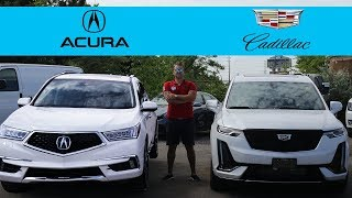 2020 Acura MDX vs 2020 Cadillac XT6 | Luxury 3 Row Seater SUV Comparison