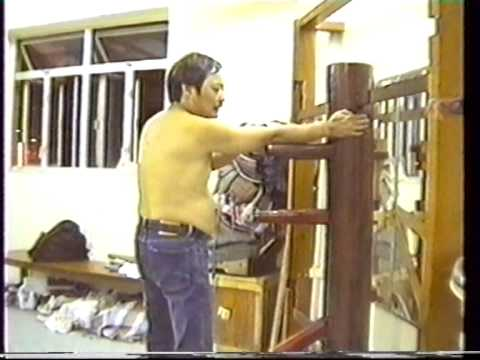 Wooden Dummy Bil Jee 3rd form secrets revealed by Wong Shun Leung Ving Tsun Kung Fu