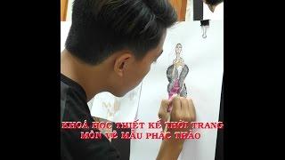 Khóa học thiết kế thời trang - Môn vẽ mẫu phác thảo thời trang