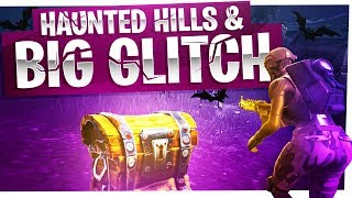 All the Chests in Haunted Hills and a New Big Glitch - Fortnite Battle Royale Gameplay