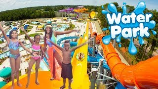 The Whole Squad Linked Up For A Fun Day At The Water Park With Ajmobb and Beam Squad