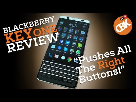 BlackBerry KEYone Review - Pushes All The Right Buttons