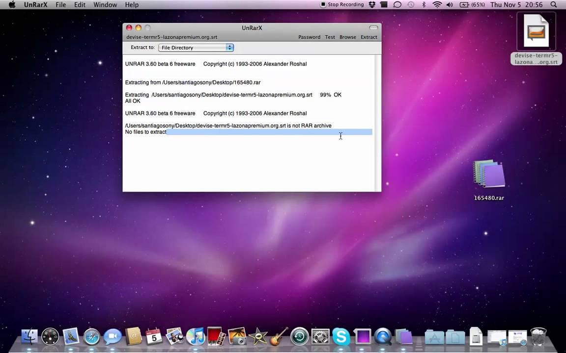Revision: UnRarX - Mac App