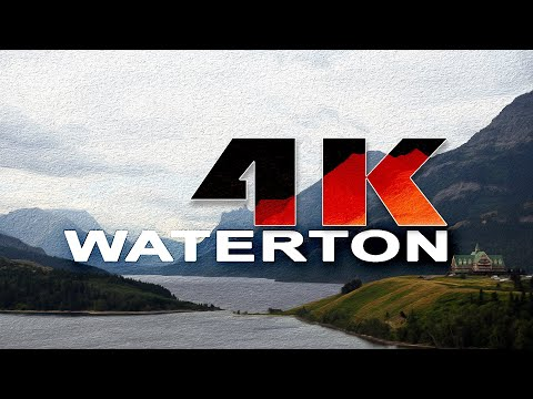 WATERTON LAKES NATIONAL PARK | ALBERTA , CANADA - A TRAVEL T