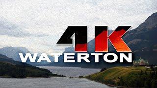 WATERTON LAKES NATIONAL PARK | ALBERTA , CANADA - A TRAVEL TOUR - 4K UHD
