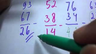 Berhitung Cepat Pengurangan dan Perkalian - matematika sd smp sma (2)