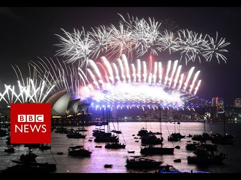 New Year 2018: First Cities Welcome New Year With A Bang