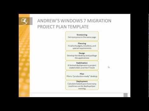 Eden Technologies' Windows 7 Migration Project Plan Template