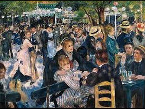 """Pierre-Auguste Renoir - """"Le bal du Moulin de la Galette"""" (Bildbetrachtung) 1/2"""