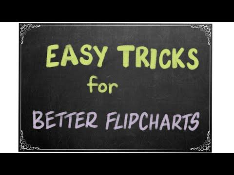 Tricks To Make Better Flip Charts (1)
