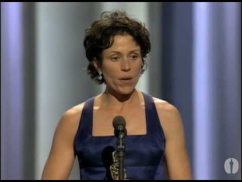 Frances McDormand winning Best Actress