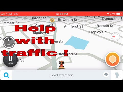 How to report police cars and traffic stops using waze