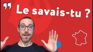 12 choses folles sur la France