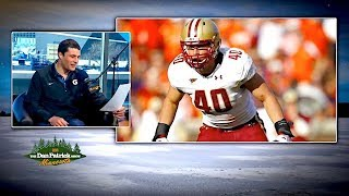 Panther LB Luke Kuechly Reads His Negative Draft Profile | The Dan Patrick Show | 02/01/18 2017 Video
