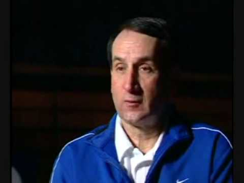 Duke Head Coach K Talks About Leading with the Heart