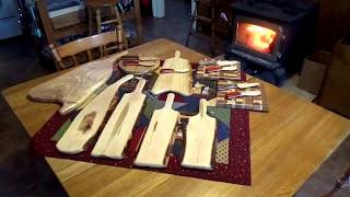 Building Traditional Swedish Wooden Butter Knives