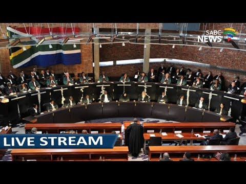 Concourt hears political parties funding: 13 March 2018 Mp3
