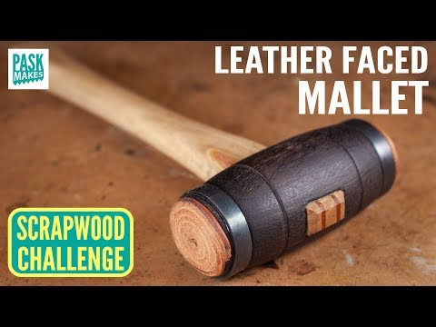 Homemade Soft Faced Mallet - Scrapwood Challenge Episode Sixteen