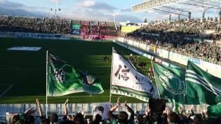勝利の街 ゴール裏 松本山雅fcvsロアッソ熊本 第39節 2016年11月3日