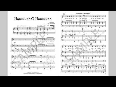 Hanukkah O Hanukkah - MusicK8.com Singles Reproducible Kit