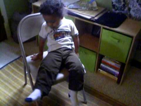 2 years old A.S.D semi tantrum