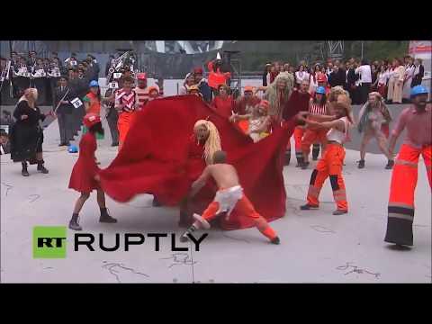 Bizzarre Satanic CERN Ritual: The Illuminati Are Bringing Evil Into This World