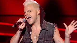 Vince Kidd performs 39Like a Virgin39 by Madonna  The Voice UK - BBC