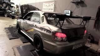 2006 WRX STI dyno run - 565 hp!
