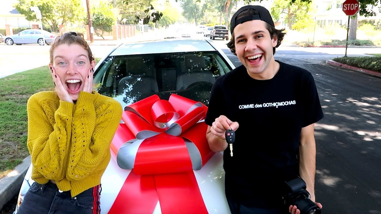 HE SURPRISED HER WITH BRAND NEW CAR!!!