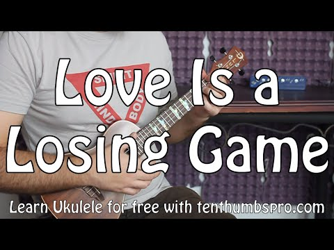 Love Is a Losing Game - Amy Winehouse - Ukulele Easy Jazz Song Tutorial