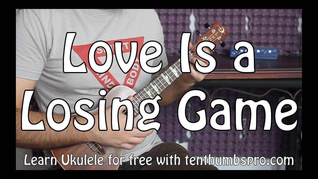 Amy Winehouse - Love Is A Losing Game Ukulele - AZ Chords