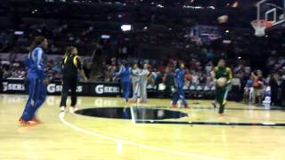 2011 WNBA All Star Warm-ups - WESTERN Conference