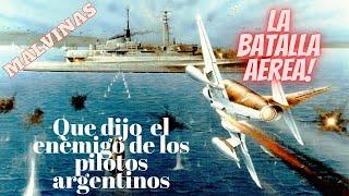 Gambar cover Emotivo, impactante. Reconocimiento inglés a pilotos argentinos en guerra de Malvinas