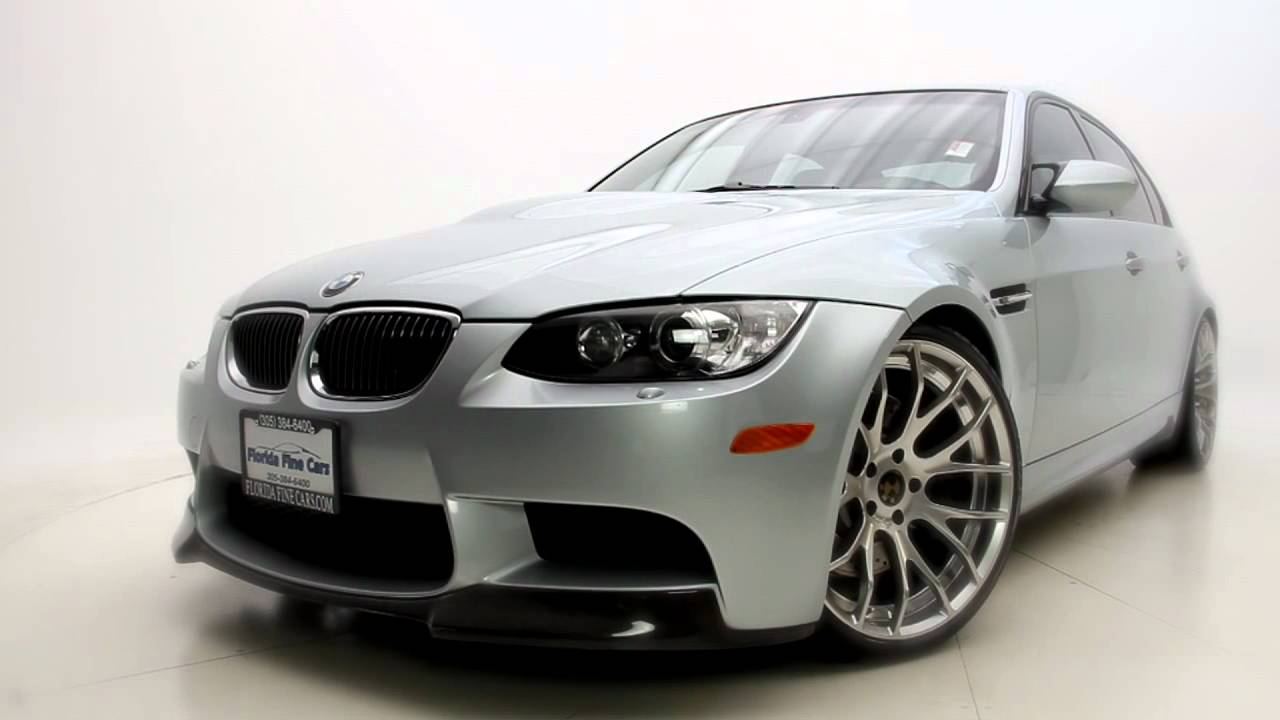 2008 bmw m3 sedan car review florida fine cars karisma studios miami production company