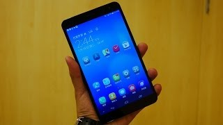 Huawei MediaPad X1 First Look and Hands On [MWC 2014]