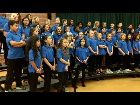 Barbara Bush Elementary School Choir Winter Concert 2019