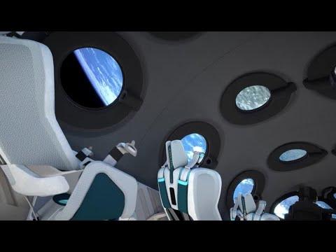 Sneak peek inside Virgin Galactic 'spaceplane'
