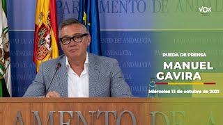 """MANUEL GAVIRA: """"VOX quiere que la presión fiscal siga reduciéndose"""""""