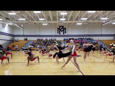 Klein Collins High School Tiger Belles, team contemporary